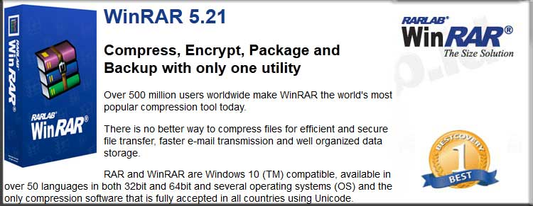 Feature WINRAR